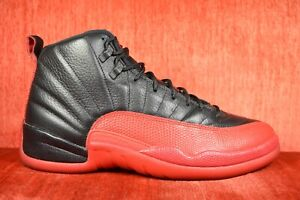 new concept 77a14 7e240 Details about WORN TWICE Nike Air Jordan 12 Retro Flu Game Size 10  Black/Varsity 130690 002