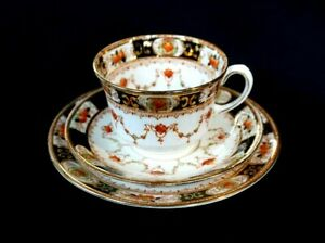 Beautiful-Melba-Hand-Painted-Imari-Trio