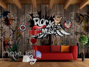 Rock Music Sticker Wall Art Wall Murals Wallpaper Decals Prints