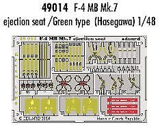 Eduard 1/48 F-4 Martin Baker Mk.7 ejection seat/Green type PRE-P