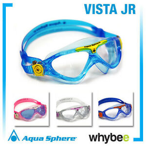 Aqua sphere vista junior youth swimming goggles masks childrens swim goggles ebay for Aqua vista swimming pool aurora co