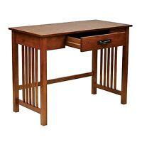 Mission-style Ash Oak Desk
