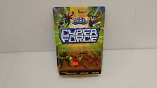 Cyber Force Mega Heroes Dark Shield, Ripclaw, and Gunmen figures, New!