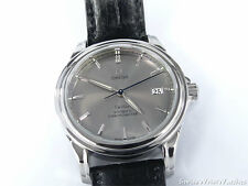 Omega De Ville Date 38 mm Silver / Grey Dial Co-Axial Chronometer 4831.40.00