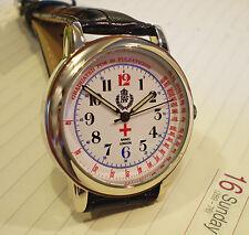 RAF Medical Officers Doctors Oxford Wrist Watch WW2 Design, Retro Vintage Dial.