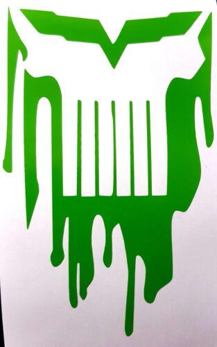 C6 CORVETTE PUNISHER BLOODY SKULL Decal  Sticker  buy 2 get 1 free