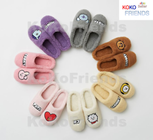 BTS BT21 Official Pure Cute Soft Slipper KPOP Merch Authentic Goods MD