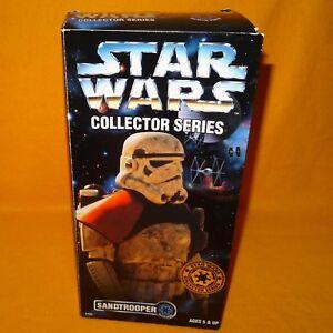 Collection de figurines Sandtrooper 1997 de Hasbro Kenner Star Wars série Collector scellées