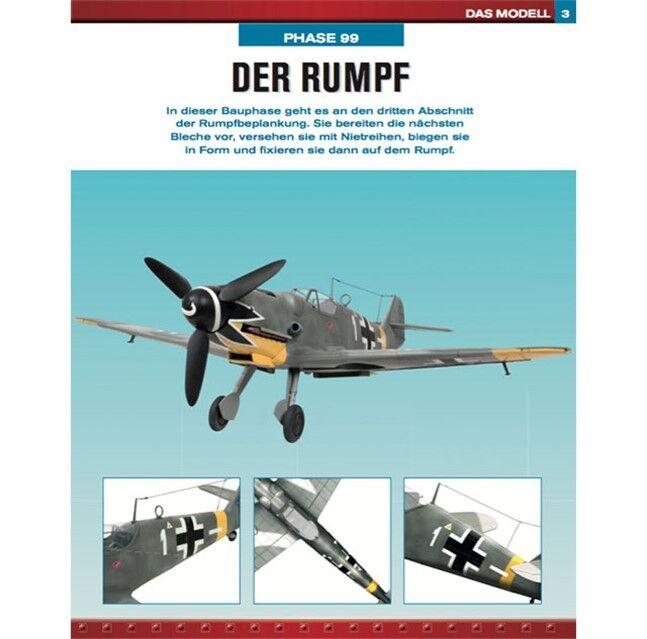 Messerschmitt BF 109 G-KIT 1 12 (completo di Savelletri .1 - 140) in metallo