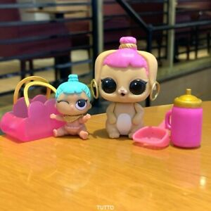 2pcs-LOL-Surprise-Lil-Sister-Genie-Doll-Bunny-Wishes-Set-Series-2-3-Pets-Gift