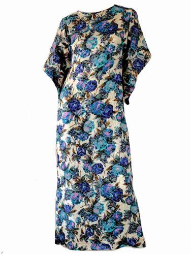 Vintage 50s Hawaiian Metallic Kimono Pake Muu Caft