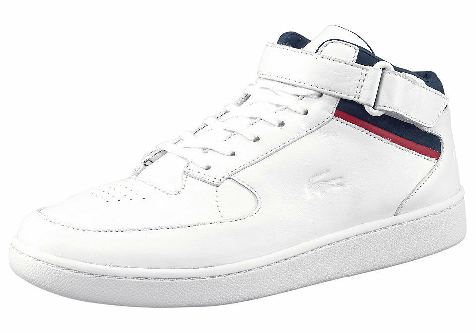 cf2ee5e91 Lacoste Turbo 116 1 Men Shoes White Leather 11.5 NIB 2483bd - work ...