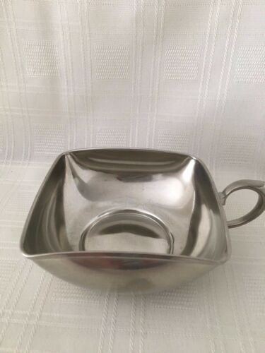 """ Royal Holland Pewter Daalderop 4 x 4x 2'' classic Candy Dish KDM Holland"