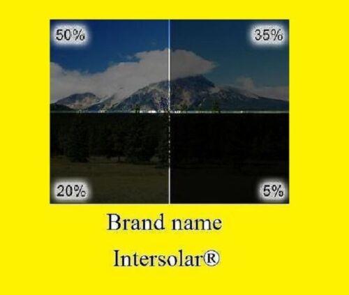 """20/"""" X 10FT ROLL 50/% EXTRA LIGHT WINDOW TINTING FILM TINT UNCUT INTERSOLAR®SR"""