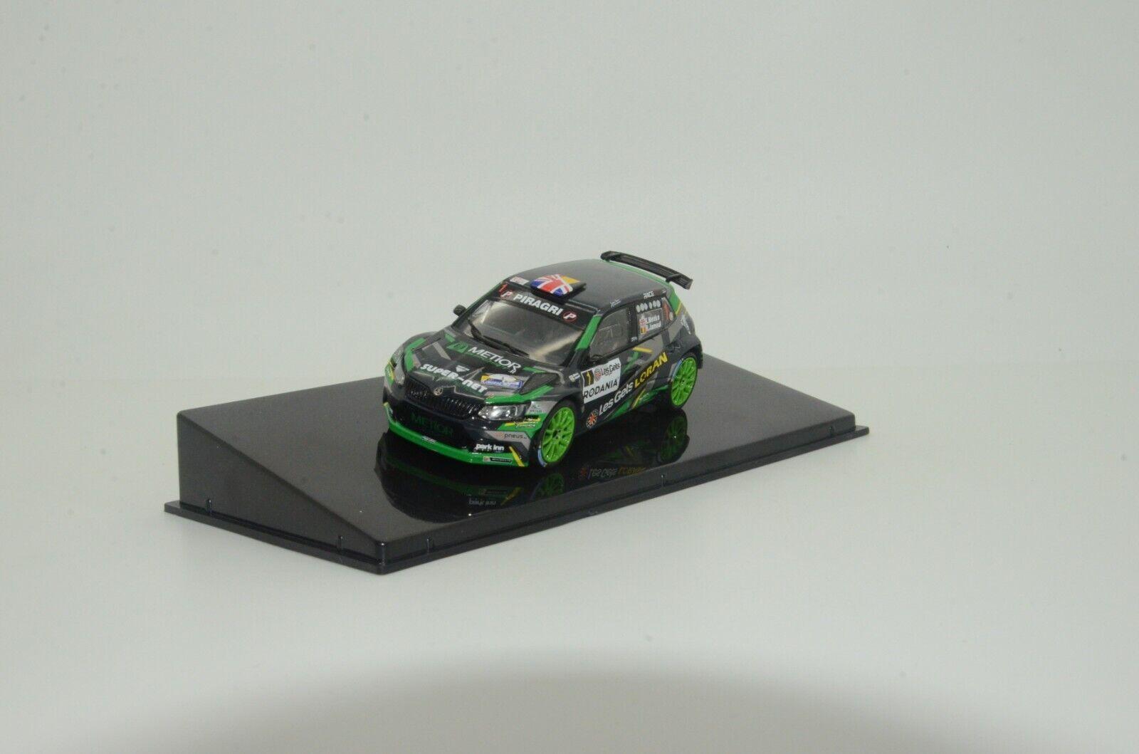 Skoda Fabia R5  1 Rally Condroz 2018 IXO RAM693