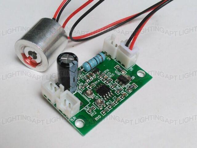 650nm 100mW Diode Red Dot Laser Module + Free TTL Laser Driver Board DC5V input