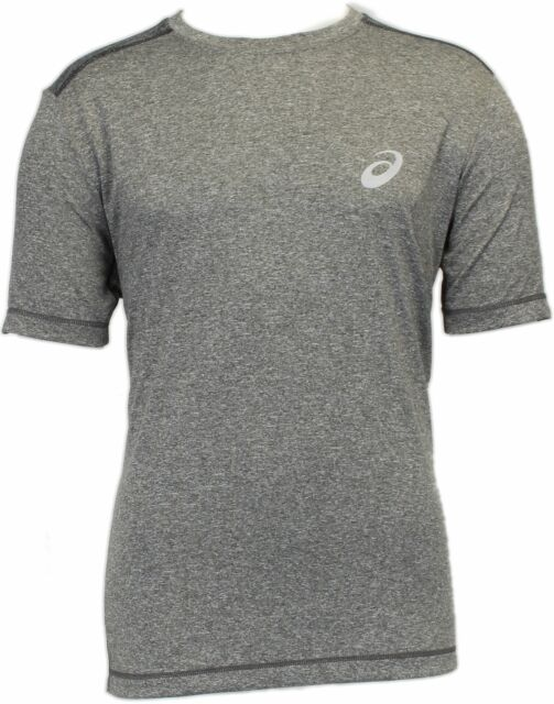 ASICS Conquerer Tee  Athletic   Tops Grey Mens - Size S