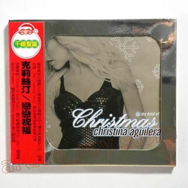 Christina Aguilera My Kind Of Christmas Taiwan CD BOX Enhanced Video 2004 | eBay