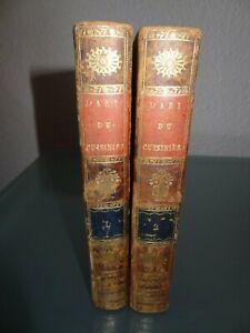 anciens-livres-de-cuisine-gastronomie-l-039-art-du-cuisinier-1814-par-A-Beauvilliers