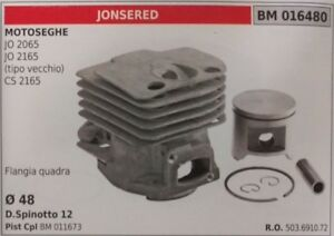 503691072-PISTON-CYLINDER-COMPLETE-CHAINSAW-JONSERED-JO-2065-2165-CS-2165-48