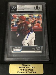 2011-Bowman-Baseball-TOPPS-100-MIKE-TROUT-ROOKIE-AUTO-BECKETT-AUTHENTIC-AUTO