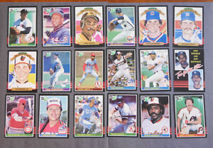 1985-Leaf-Canadian-Baseball-Complete-set-of-264-cards