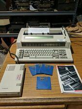 Ibm Wheelwriter 2500 Electronic Typewriter Bundle With Disk Drive And Manual