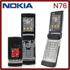 ORIGINAL Nokia N76 Piano Black 100% UNLOCKED N 76 Smartphone GSM 9 Warranty FREE