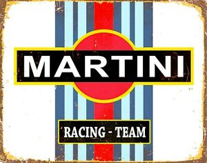 MARTINI-RACING-Replica-Vintage-Metal-Wall-Sign-Plaque-Retro-Garage-Shed-Gift