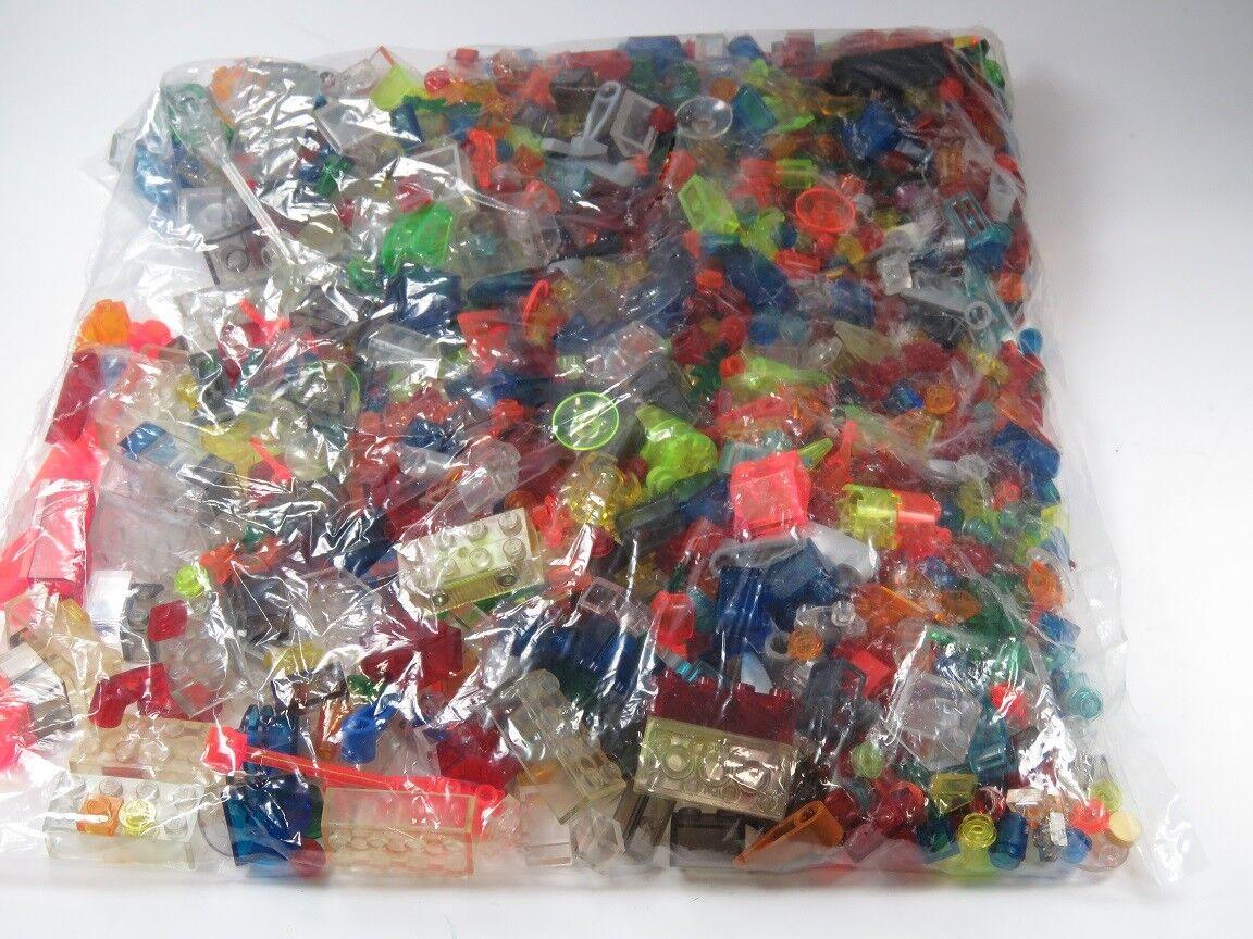 LEGO® Posten Lichtstein Stein Polizei Transparentstein Laser Space bunt gemischt