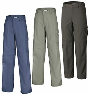 Columbia Silver Ridge III Boys Convertible Trousers Zip off Shorts