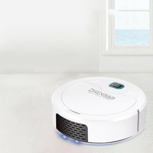 Smart Robot Vacuum Cleaner USB Charging UV Disinfection,1600pa Strong Suction
