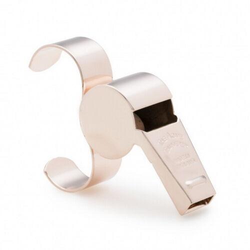 ACME Thunderer Whistle 477//58.5 Fingergrip Netball Whistle Cushion Mouth Guard