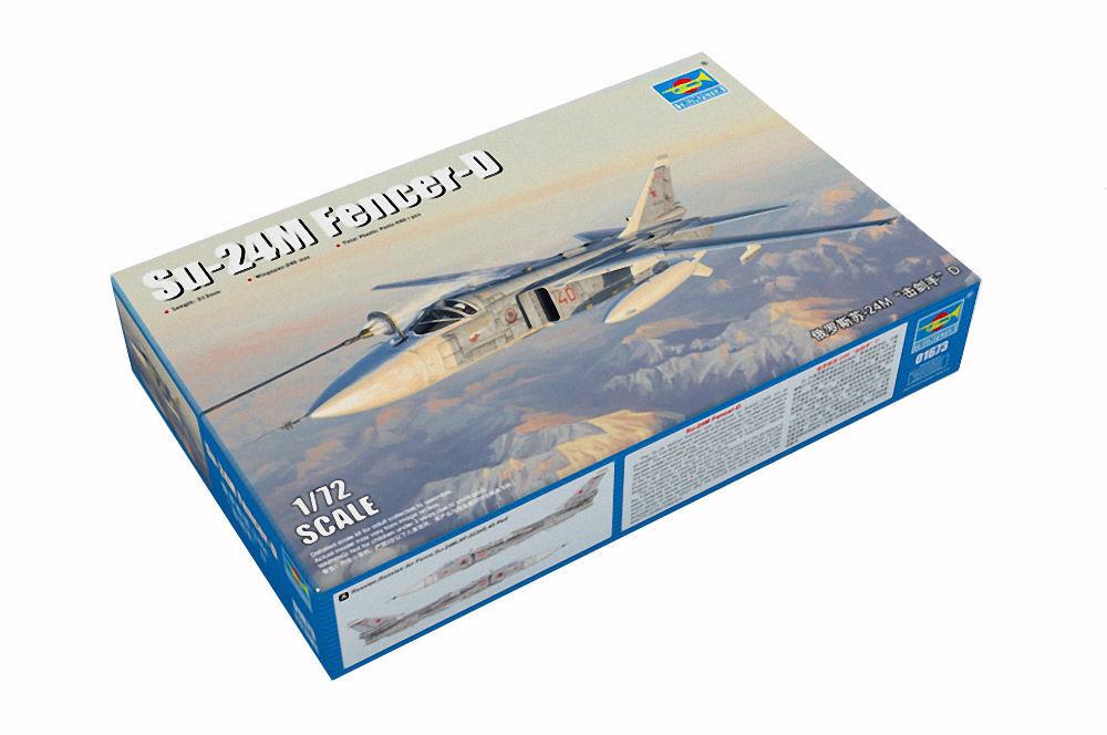 Tru01673 - Trumpeter 1 72 - Su-24M Fencer-D