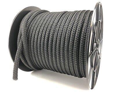 Fender Rope 10mm x 2m With Spliced Eye Loop Braid on Braid Sail Boating Yacht