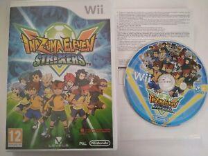 Inazuma Eleven Strikers Pal Pt Nintendo Wii Ebay