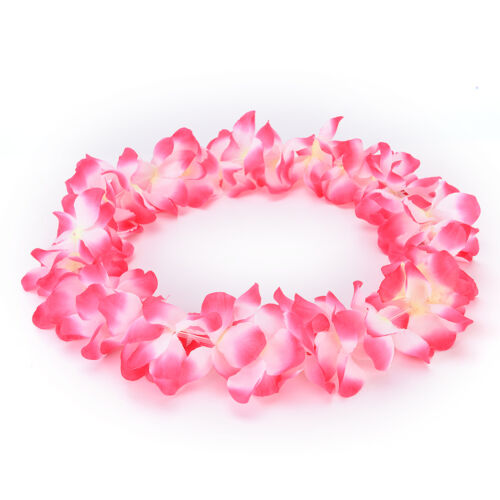 Hawaiian Leis Simulated Silk Flower Leis Party Dance Fancy Dress Garland Gh