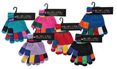 1 Paar Original Wowerat Handschuhe | Onesize Für Kleinkinder | Geringelt Mangelware