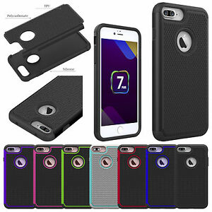 Hybrid-Shockproof-Heavy-Duty-PC-TPU-Armor-Case-Cover-For-Apple-iPhone-7-7-Plus