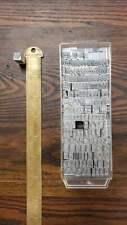 Vintage Letterpress Type 24 Point