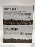 Miscela D'oro Espresso Double - 2 Boxes X 100 Espresso Pods - 200 Pods Italian