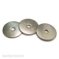 Metric A2 Stainless Steel Flat Penny Repair  Mudgard Washers - M4 to M16