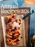 Better Homes And Gardens Annual Recipes 2014 Hardcover Cookbook