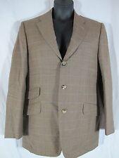 Alfred Dunhill Brown Alpaca Wool Blazer Sport Jacket 40 R