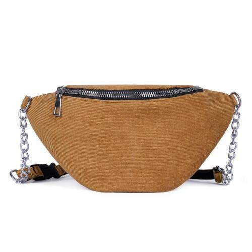 Women Ladies Waist Fanny Pack Belt Bag Hip Bum Purse Chest Pouch Cross-body Bags