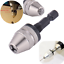 BEST 1//4 INCH Hex Shank Keyless Drill Bit Chuck Adapter Converter Quick Change