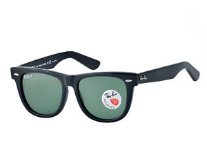 d434345567e Image is loading Ray-Ban-Original-Wayfarer-Classics-Black-Frame-Green-