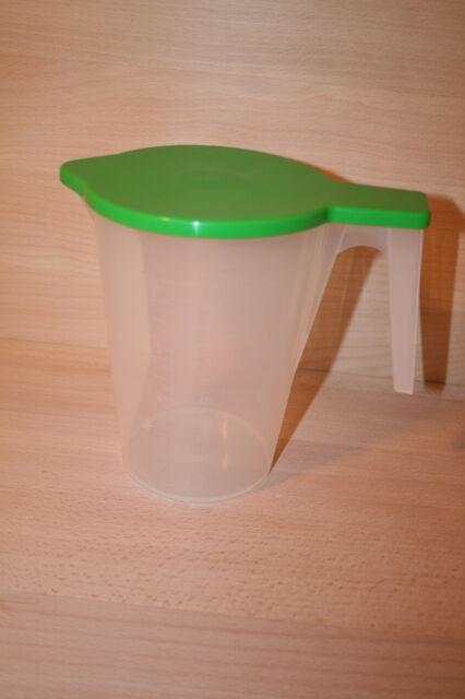 Messbecher Literbecher Maßbecher stapelbar 1 bis 5 Liter mit Deckel u. Skala