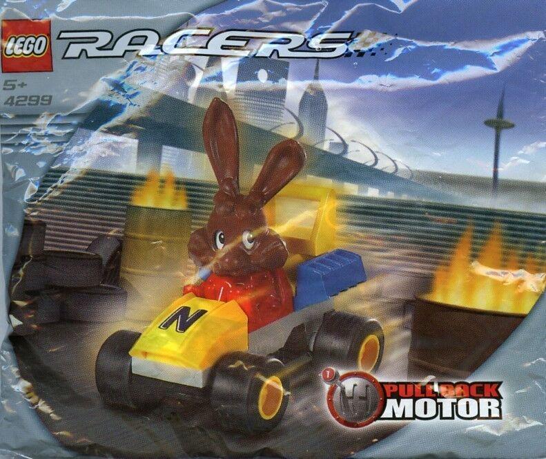 Lego 4299-Racers-Nesquick Conejo Racer-Bolsa De Polietileno De Set-Nuevo