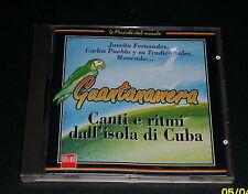 """CD """"GUANTANAMERA"""" [canti e ritmi dell'isola di Cuba] *Ottimo*"""
